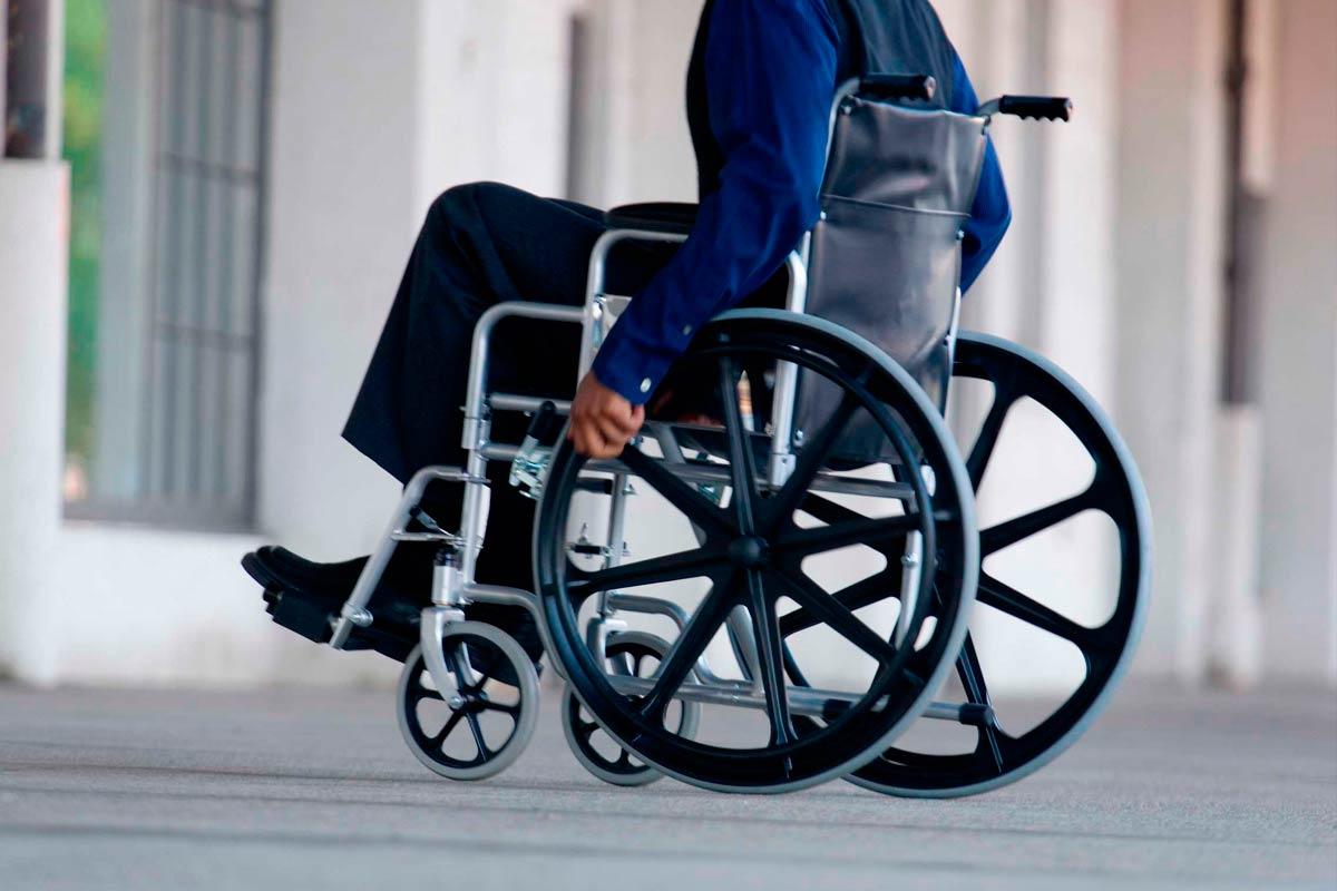 los discapacitados