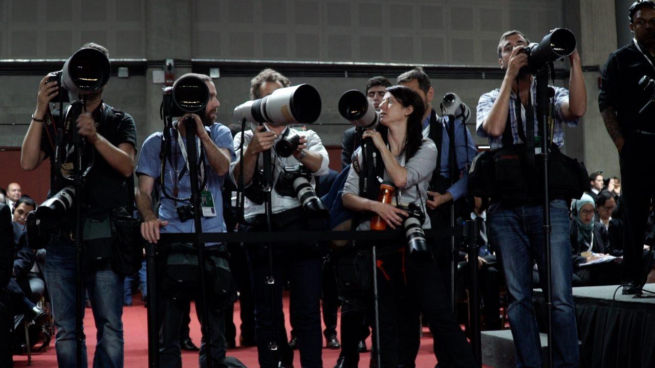 los fotografos