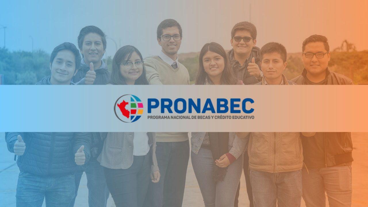 Qué es PRONABEC Perú