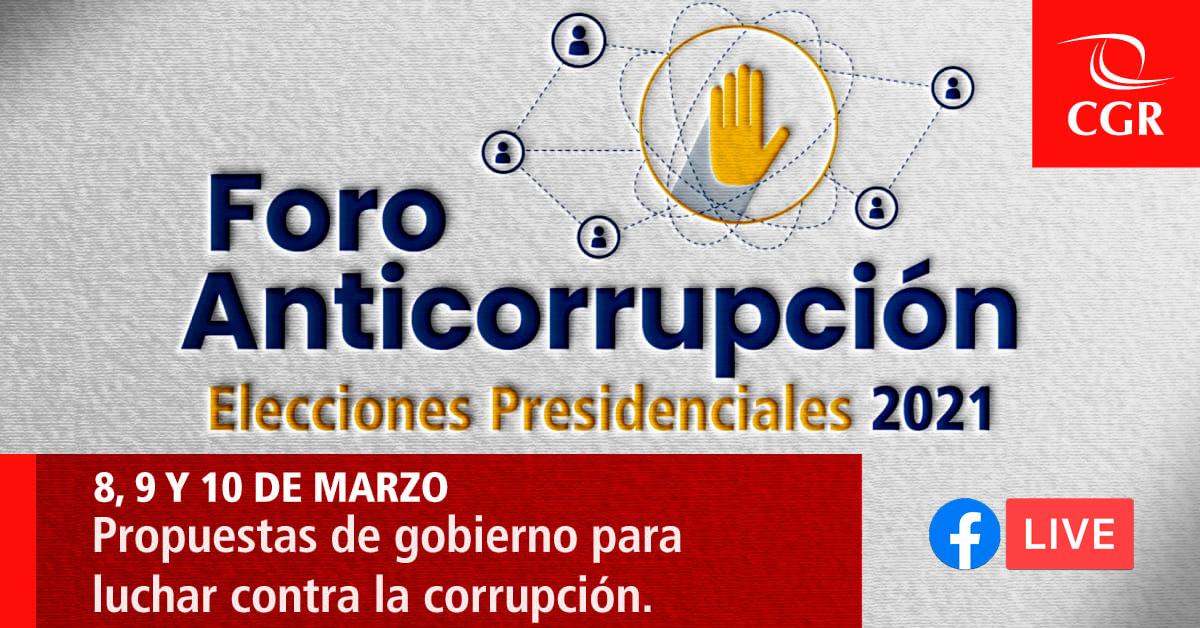 foro anticorrupcion