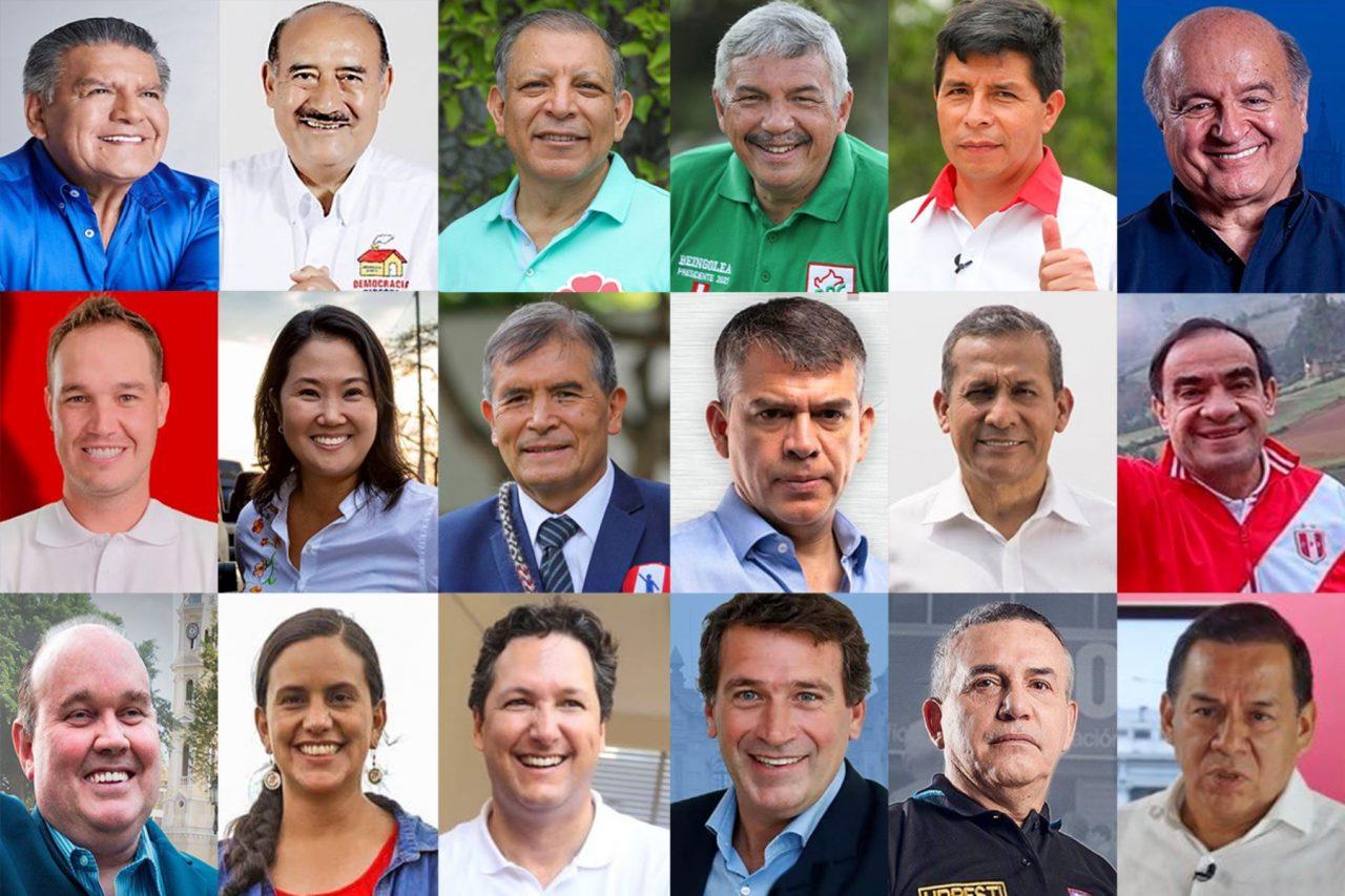 los candidatos 2021