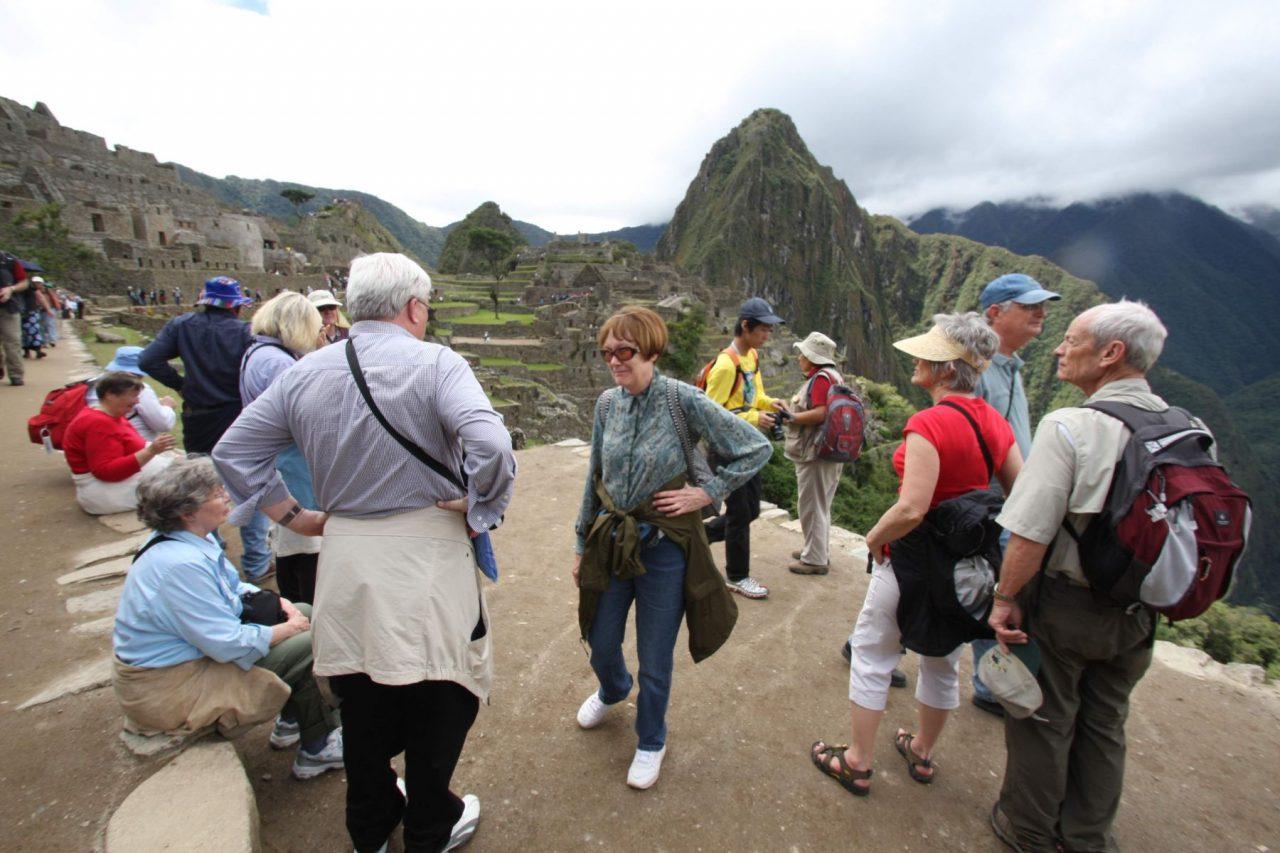 los turistas en cuzco
